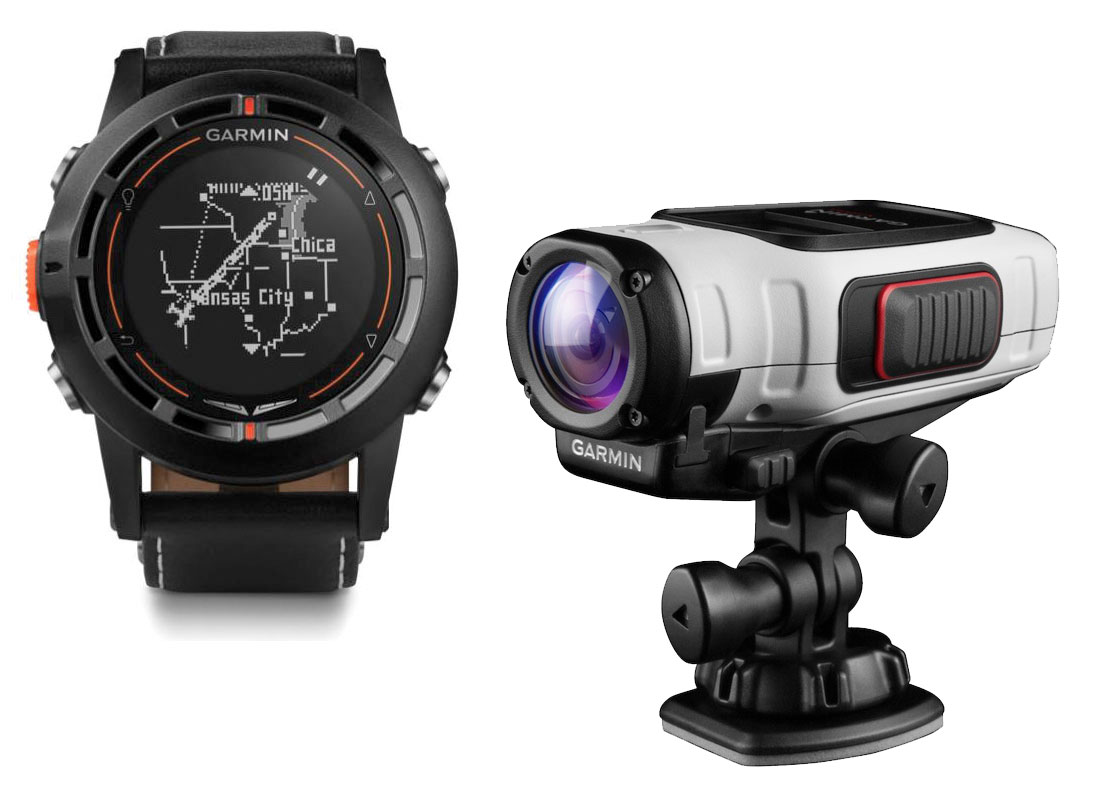 Garmin komplet - D2 Pilot Watch in VIRB Elite Action Camera